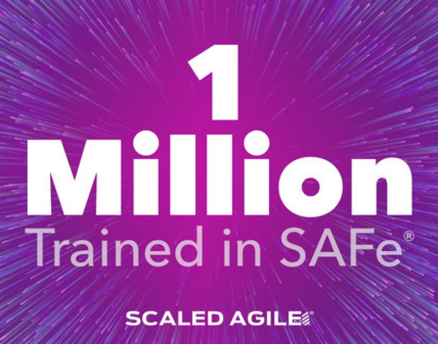 Scaled Agile Sees Record Growth as it Surpasses One Million Trained in SAFe®, the World's Leading Framework for Business Agility