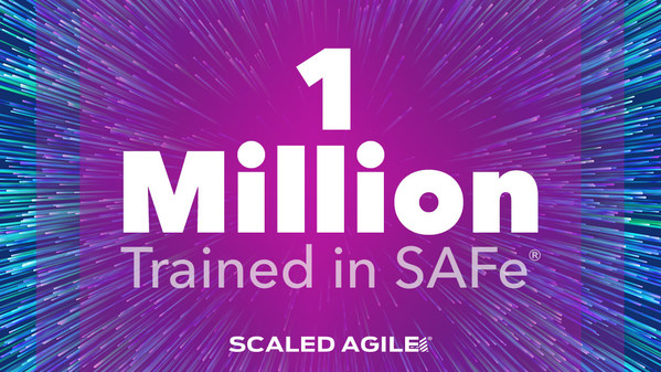 The number of people trained in SAFe has surpassed one million as strong interest in business agility has accelerated adoption of the framework