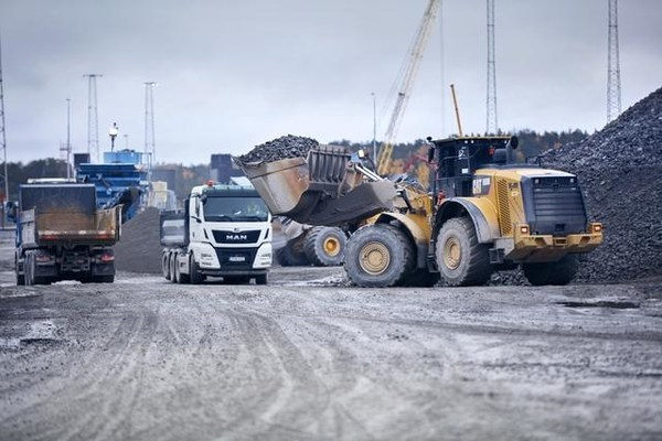 SSAB steels in mining and construction operations