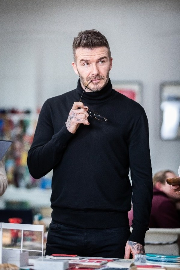 For Suites by David Beckham, the British star drew on his favourite design and style elements, as well as references to his interests and sporting career.