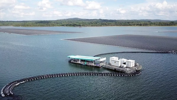 58.5MW Floating PV Plant with Sungrow PV and Floating Solutions
