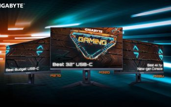 The GIGABYTE Complete Gaming Monitor Lineup Received High Praise for Stellar Performance