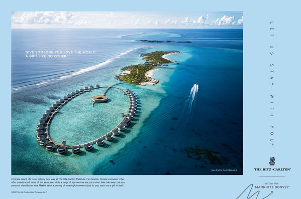 Give Someone You Love The World - Embrace island life in an entirely new way at The Ritz-Carlton Maldives Fari Islands. A Gift Like No Other.