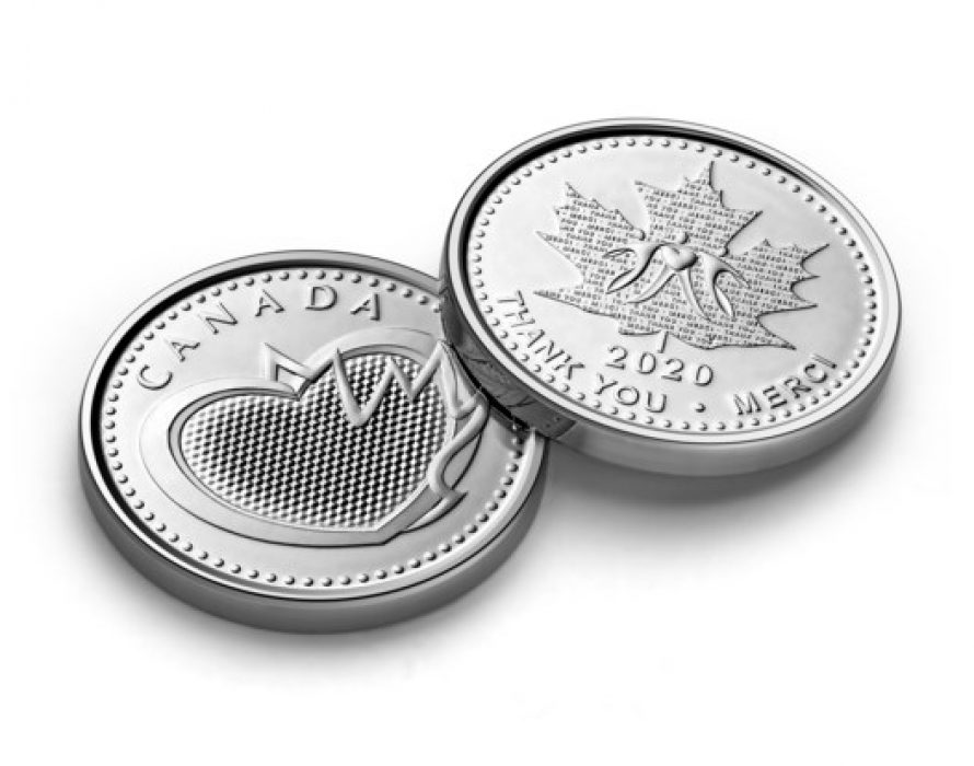 The Royal Canadian Mint's Recognition Medal Wins International Award for Best Currency Initiative in Response to the Covid-19 Pandemic