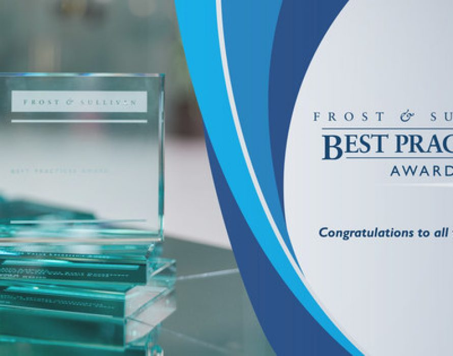 Top Organizations Honored with Frost & Sullivan Asia-Pacific Best Practices Awards