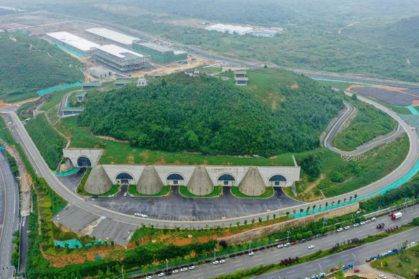 Tencent Seven Star Data Center in Guian New Area in west China's Guizhou Province