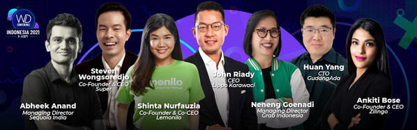 Hear from these speakers at Wild Digital Indonesia 2021!