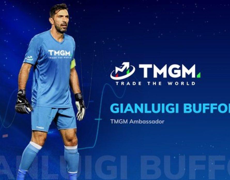 World-Champion Goalkeeper Gianluigi Buffon Partners With Leading Online Trading Platform TMGM