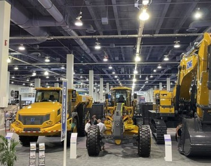 XCMG Debuts Three Customized Products at MINExpo 2021 in Las Vegas