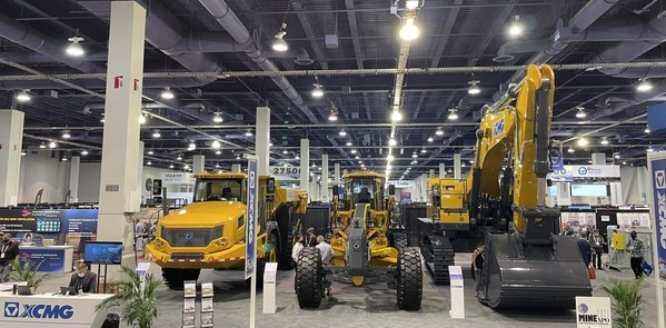 XCMG Debuts Three Customized Products at MINExpo 2021 in Las Vegas.