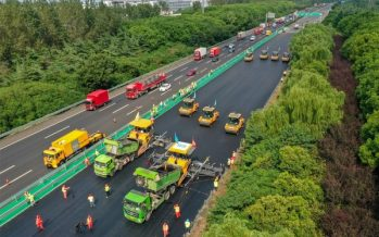 XCMG's Unmanned Road Construction Fleet, the Largest Scale Globally, Completes National Highway Maintenance Project