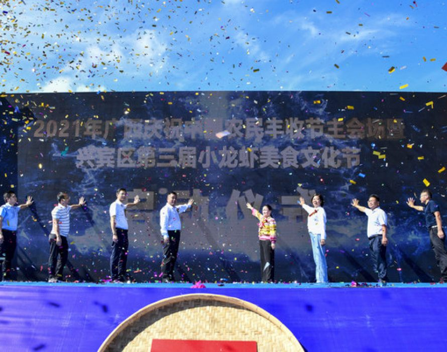 Xinhua Silk Road: Xingbin District of Guangxi's Laibin City celebrates harvest festival to beat drum for local farm produce brands