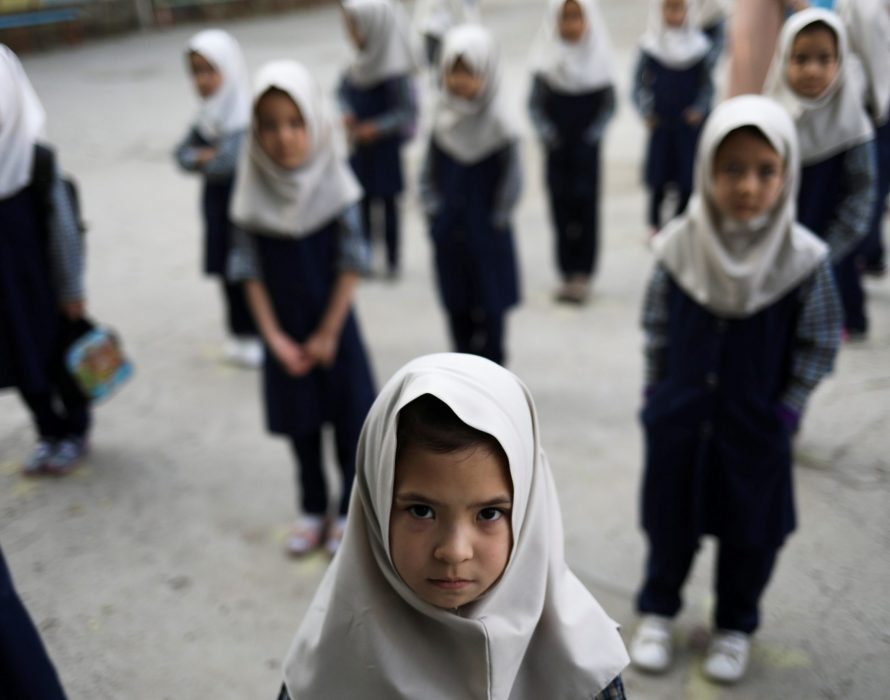 Afghan minister wants good relations, needs more time on girls' education