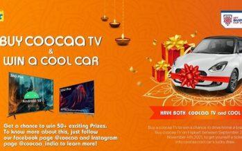WIN a Car This Diwali with coocaa's Massive Festive Celebration*
