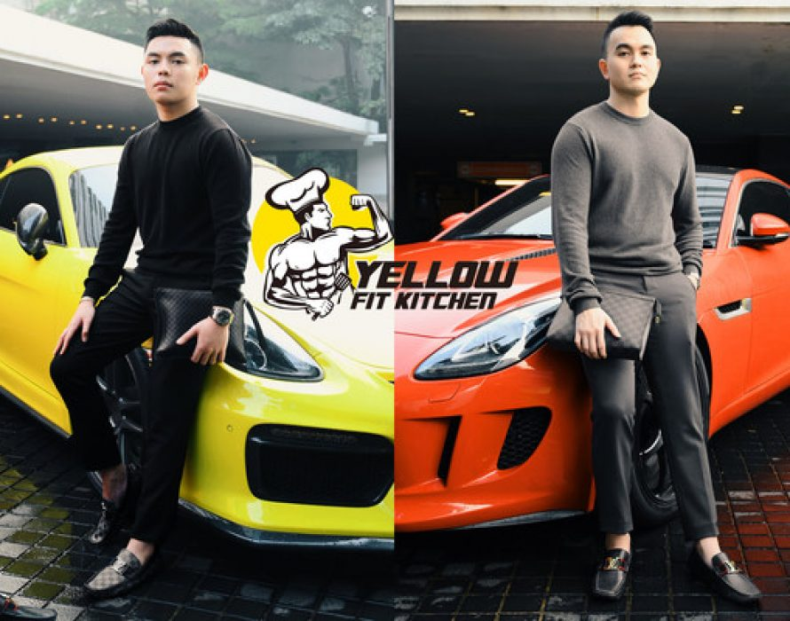Yellow Fit Kitchen's Founders, Gregorius Ruben and Christopher Aldo, Announce Plan to Tackle Increased Obesity Rate in Indonesia