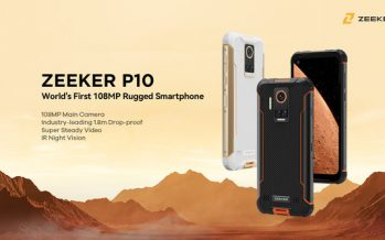ZEEKER Reveals World's First Rugged Phone Equipped with 108MP Camera Sensor